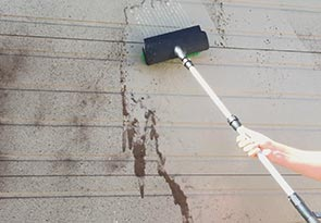 Deep clean exterior siding